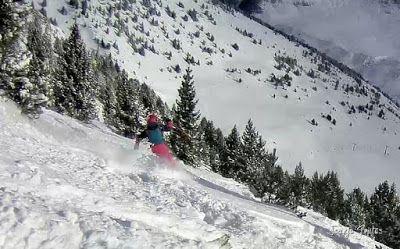 102 - Gozando las nevadas de Cerler, Valle de Benasque.
