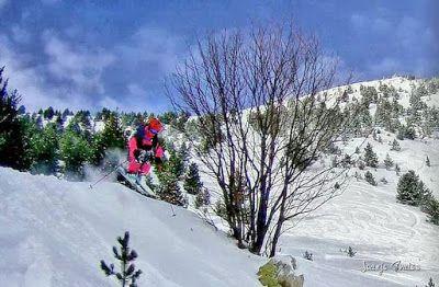 103 fhdr - Gozando las nevadas de Cerler, Valle de Benasque.