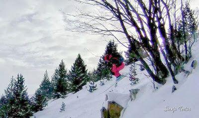 105 fhdr - Gozando las nevadas de Cerler, Valle de Benasque.