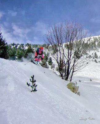 108 fhdr - Gozando las nevadas de Cerler, Valle de Benasque.