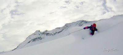 109 fhdr 001 - Gozando las nevadas de Cerler, Valle de Benasque.