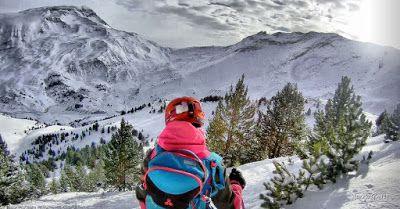 110 fhdr - Gozando las nevadas de Cerler, Valle de Benasque.