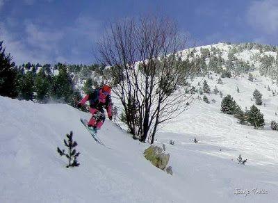 111 - Gozando las nevadas de Cerler, Valle de Benasque.