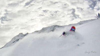 113 fhdr 001 - Gozando las nevadas de Cerler, Valle de Benasque.