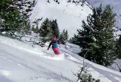 118 - Gozando las nevadas de Cerler, Valle de Benasque.