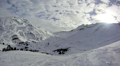119 - Gozando las nevadas de Cerler, Valle de Benasque.