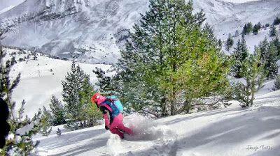 122 fhdr - Gozando las nevadas de Cerler, Valle de Benasque.