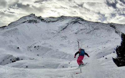 124 fhdr - Gozando las nevadas de Cerler, Valle de Benasque.
