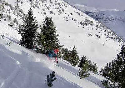 125 - Gozando las nevadas de Cerler, Valle de Benasque.