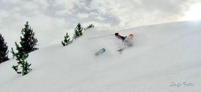 127 fhdr 001 1 - Gozando las nevadas de Cerler, Valle de Benasque.
