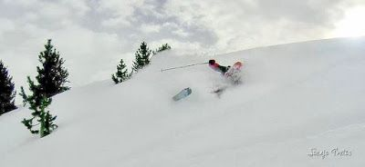 127 fhdr 001 - Gozando las nevadas de Cerler, Valle de Benasque.