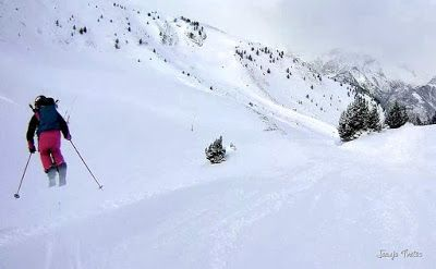 128 - Gozando las nevadas de Cerler, Valle de Benasque.