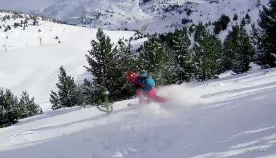 129 - Gozando las nevadas de Cerler, Valle de Benasque.