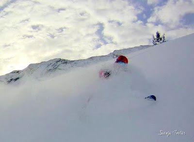 130 - Gozando las nevadas de Cerler, Valle de Benasque.
