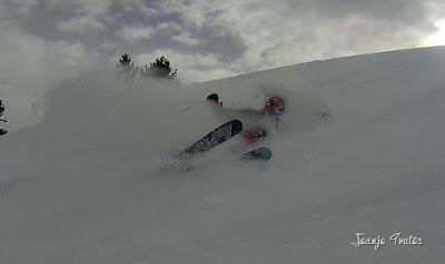 134 - Gozando las nevadas de Cerler, Valle de Benasque.