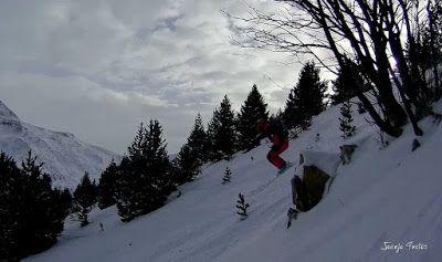 138 - Gozando las nevadas de Cerler, Valle de Benasque.