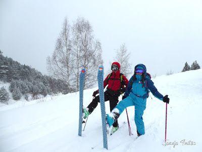 P1090664 - Diciembre empieza blanco en el Valle de Benasque.