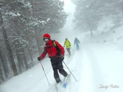 P1090669 - Diciembre empieza blanco en el Valle de Benasque.