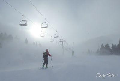 P1090671 - Diciembre empieza blanco en el Valle de Benasque.