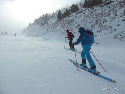 P1090686 - Diciembre empieza blanco en el Valle de Benasque.