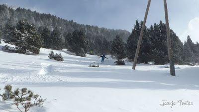 P1090707 - Diciembre empieza blanco en el Valle de Benasque.