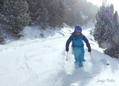 P1090719 - Diciembre empieza blanco en el Valle de Benasque.