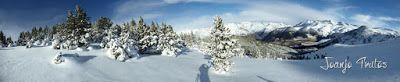 Panorama1 2 - Pinos & powder, pues es Cerler en Diciembre ...
