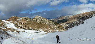 Panorama1 3 - Esperando la ansiada nevada en el Valle de Benasque.