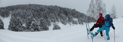 Panorama1 5 - Diciembre empieza blanco en el Valle de Benasque.