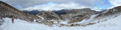 Panorama2 4 - Esperando la ansiada nevada en el Valle de Benasque.
