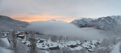 Panorama1 001 - Después del retraso, Powder en Cerler, Valle de Benasque.