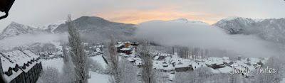 Panorama2 1 - Después del retraso, Powder en Cerler, Valle de Benasque.