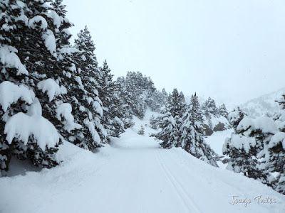 P1110250 - Visitando los 3 m de nieve del Refugio de La Renclusa, Valle de Benasque.