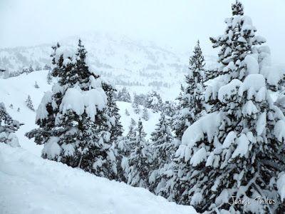 P1110253 - Visitando los 3 m de nieve del Refugio de La Renclusa, Valle de Benasque.