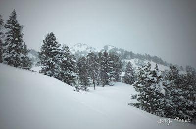 P1110306 - Visitando los 3 m de nieve del Refugio de La Renclusa, Valle de Benasque.