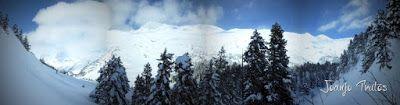 Panorama16 - Visitando los 3 m de nieve del Refugio de La Renclusa, Valle de Benasque.