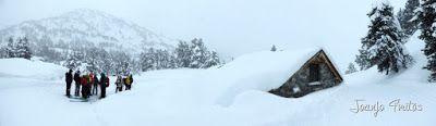 Panorama2 1 - Visitando los 3 m de nieve del Refugio de La Renclusa, Valle de Benasque.