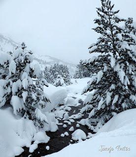 Panorama3 - Visitando los 3 m de nieve del Refugio de La Renclusa, Valle de Benasque.