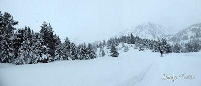 Panorama5 1 - Visitando los 3 m de nieve del Refugio de La Renclusa, Valle de Benasque.