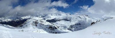 Panorama6 001 - Gallinero skimo, se acabó abril con nueva nevada.