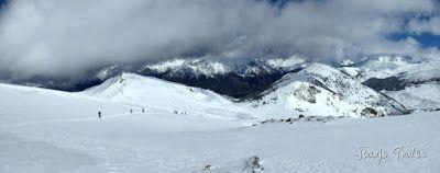 Panorama7 001 - Gallinero skimo, se acabó abril con nueva nevada.