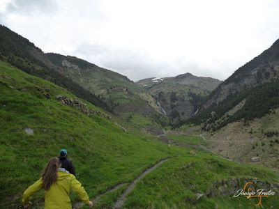 P1140110 - Ruta Las Tres Cascadas de Cerler con mucha agua ...