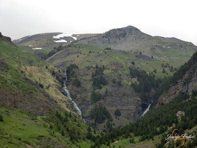 P1140112 - Ruta Las Tres Cascadas de Cerler con mucha agua ...