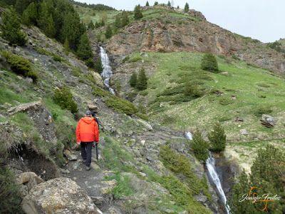 P1140114 - Ruta Las Tres Cascadas de Cerler con mucha agua ...