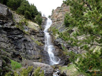 P1140119 - Ruta Las Tres Cascadas de Cerler con mucha agua ...