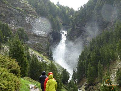 P1140121 - Ruta Las Tres Cascadas de Cerler con mucha agua ...