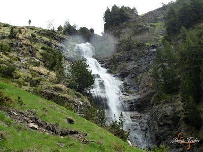 P1140124 - Ruta Las Tres Cascadas de Cerler con mucha agua ...