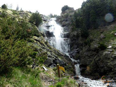 P1140127 - Ruta Las Tres Cascadas de Cerler con mucha agua ...