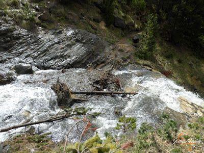 P1140130 - Ruta Las Tres Cascadas de Cerler con mucha agua ...
