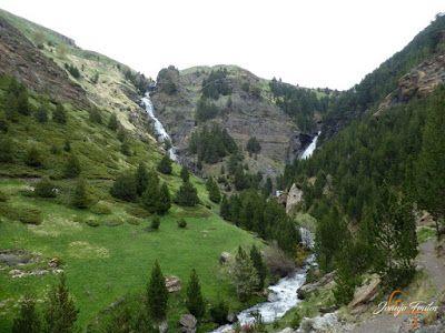 P1140137 - Ruta Las Tres Cascadas de Cerler con mucha agua ...